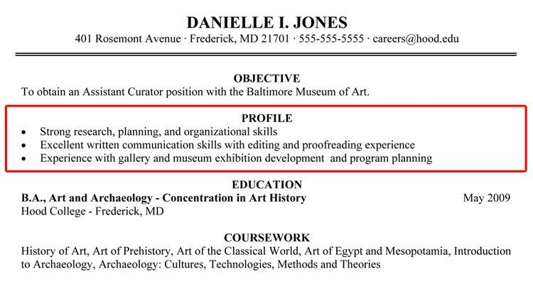 examples of a good resume 19 32 best resume example images on ...
