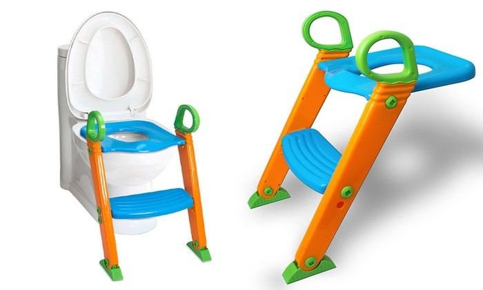 63% Off on Potty Training Ladder Step Seat | Groupon Goods