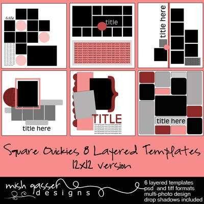 Hoof Prints Design: New products: templates, mini-album + free ...