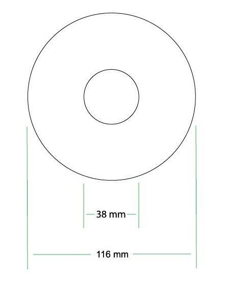 CD Printing Templates
