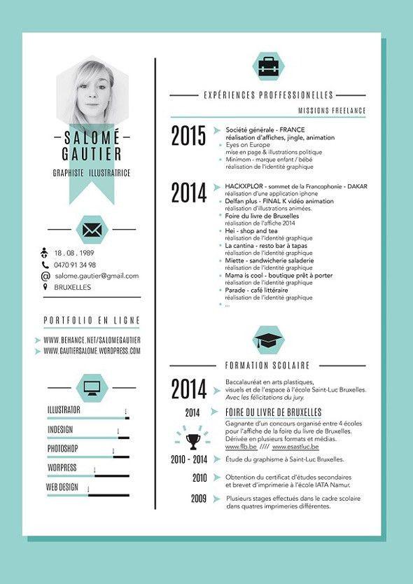 15 Impressive Resume Designs - Printaholic.com