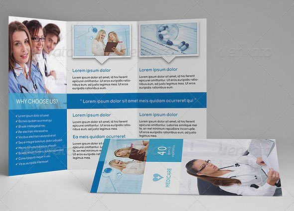 healthcare brochure templates
