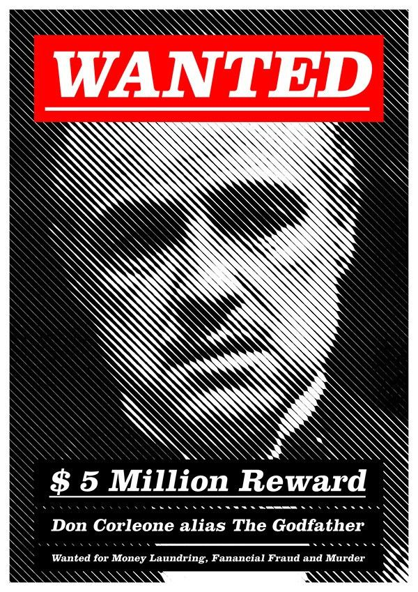 Modern Wanted Poster on Behance