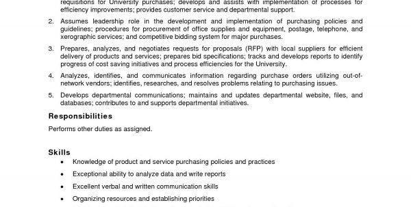 Purchasing Clerk Job Description. Accounts Payable Job Description ...