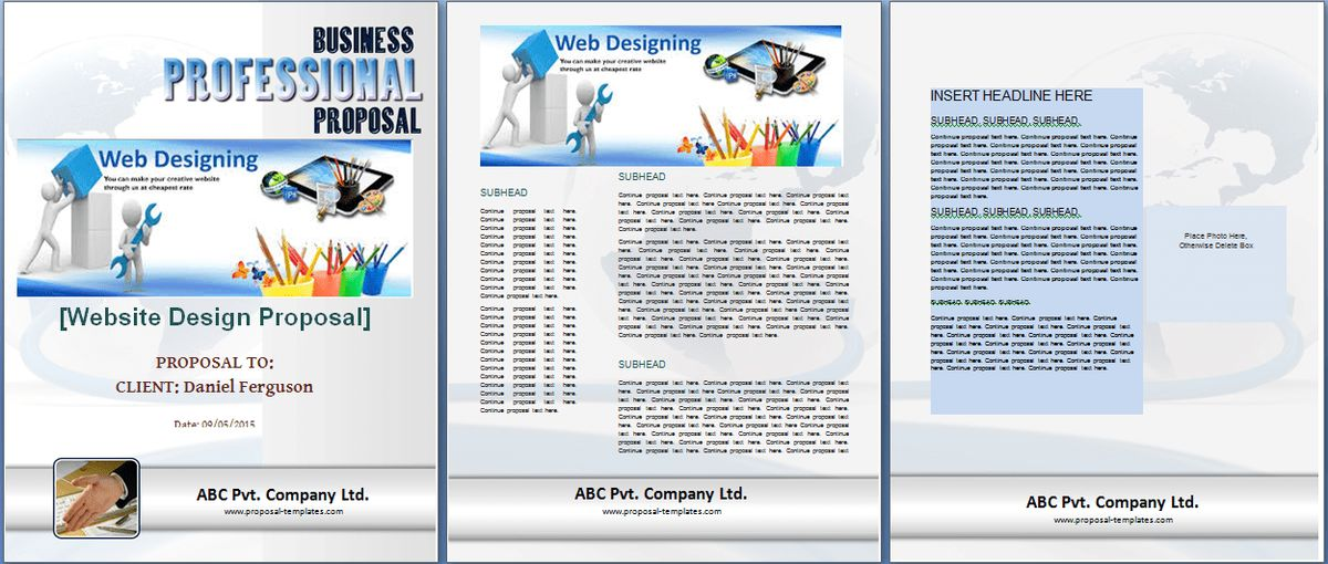 Doc.#604778: Web Design Proposal Template Word – Doc604778 Web ...