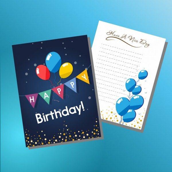 Birthday invitation template free vector download (14,560 Free ...