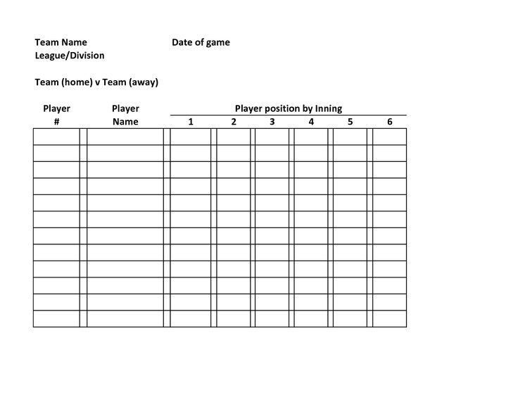 Sports Roster Template. Attendance Sheet 32 38 Free Printable ...