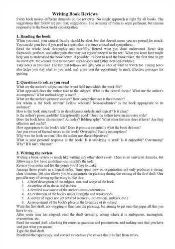 book report sample book review template differentiated pdf - Example Of Book Review Essay