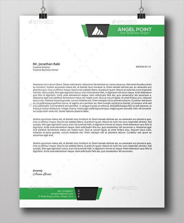 Business Letter Templates Free Sample Example Format Download ...