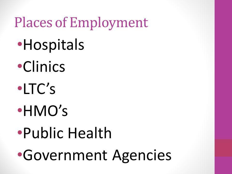 Jobs in Hospital/ Health Care Facility Service. Job Description ...