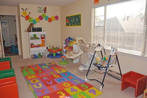 Home Daycare Layout | Choo Choo DayCare | Pinterest | Daycare ...