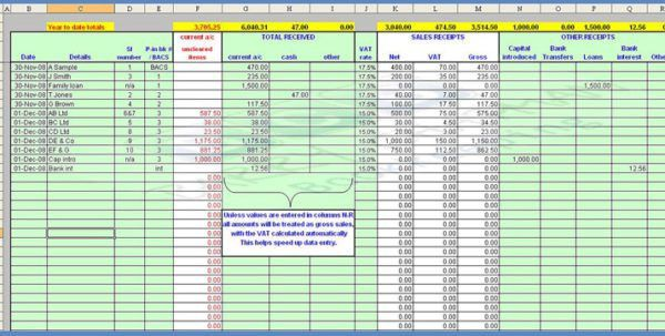 Free Accounting Templates Excel Worksheets Excel Accounting ...