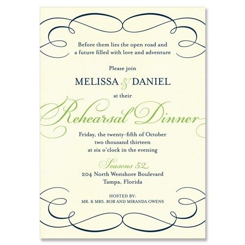 Wedding Rehearsal Dinner Invitation Wording – gangcraft.net