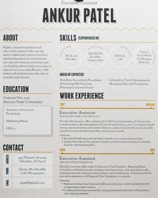 Best 25+ Good resume ideas on Pinterest | Resume, Resume words and ...