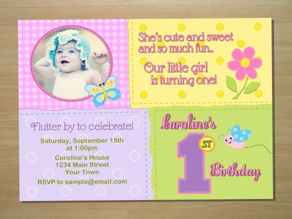 Butterfly Birthday Invitations Ideas – Bagvania FREE Printable ...