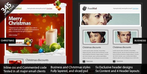 Best Premium Christmas Email Newsletter Templates - Designmodo