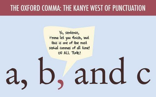 STUDY: Oxford Commas for Grammar Snobs Only (Ironically) – Adweek