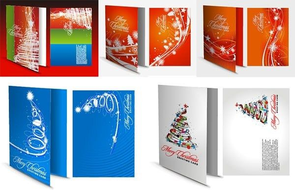Blank greeting card template free vector download (22,961 Free ...