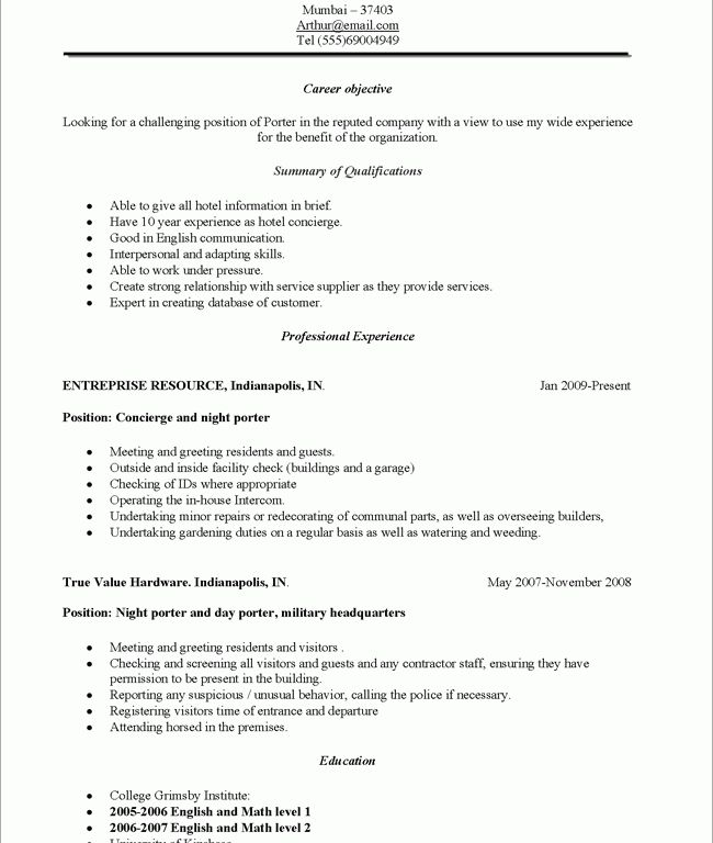 janitorial resume objective custodian worker resume objective