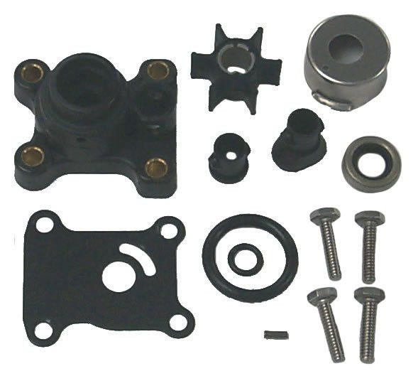 Water Pump Repair Kit with Housing for Johnson, Evinrude 391698 ...