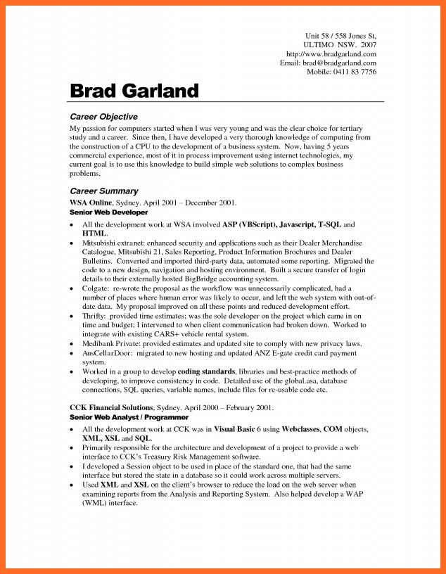 Career Goals Statement Examples | Jobs.billybullock.us