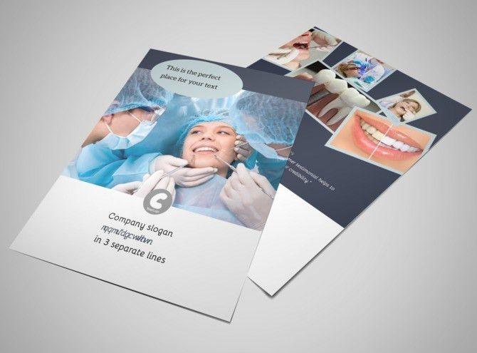 Family Dentists Flyer Template | MyCreativeShop