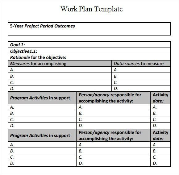 Renovation Work Schedule Template | schedule template free