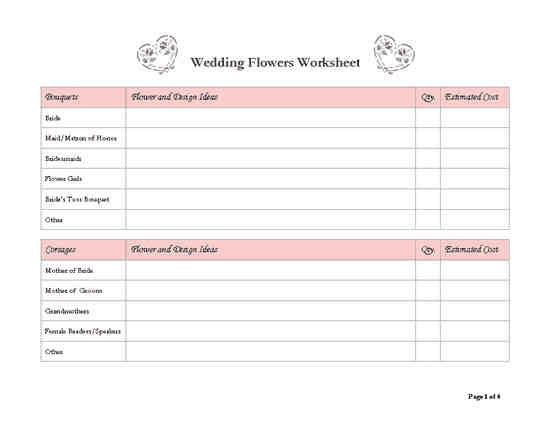 12+ wedding planner template | a cover letters