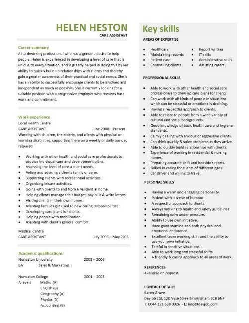 Resume Format For Clinical Pharmacist - http://topresume.info ...