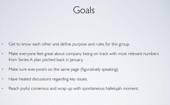 A Great Meeting Agenda | Damn Good Communication from ALEX
