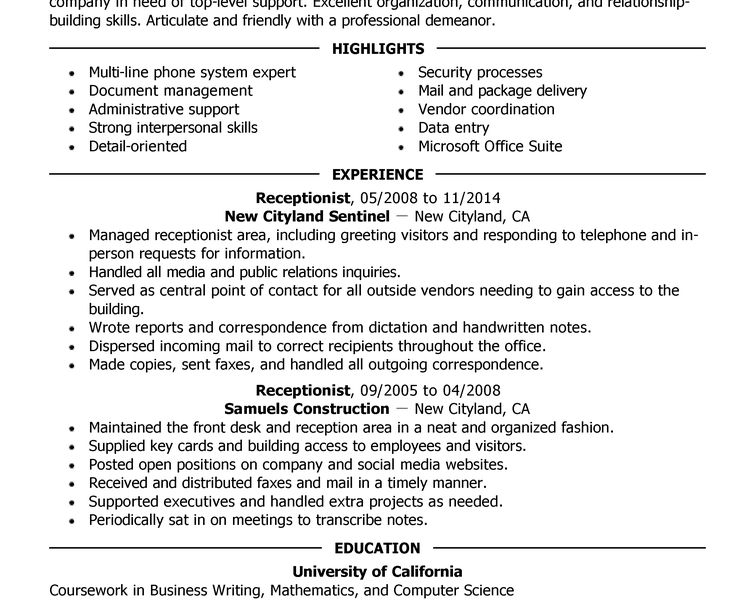 Clever How To Write A Professional Resume 10 Best Resume Examples ...