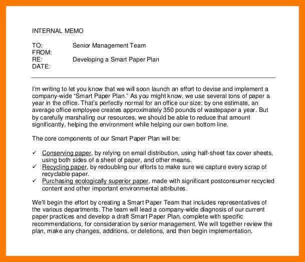 7+ internal memo examples | park-attendant