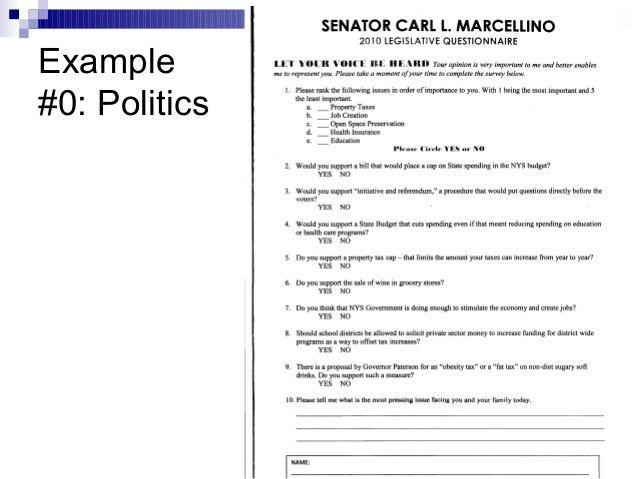 marketing survey template