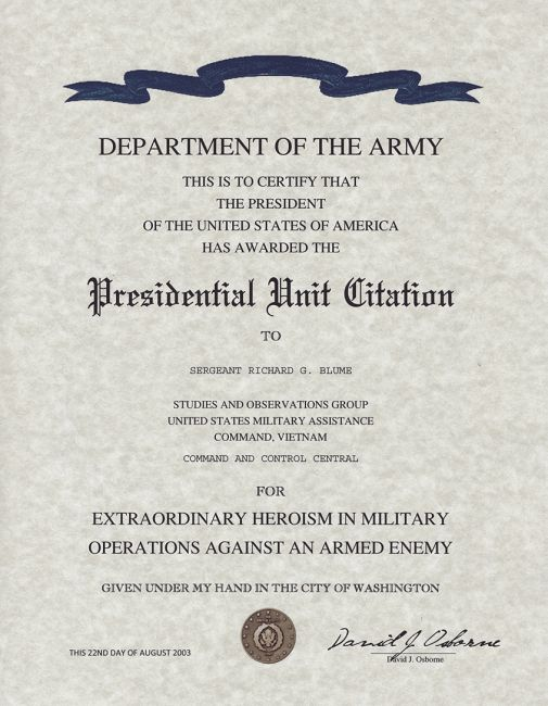 Military replacement Certificates, Military Awards, DD-214, Bronze ...