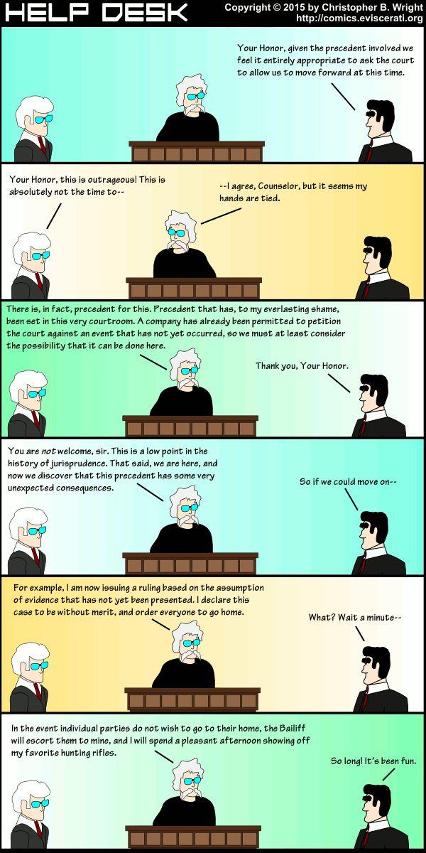 Reductio Ad Absurdum   Help Desk   Eviscerati.Org