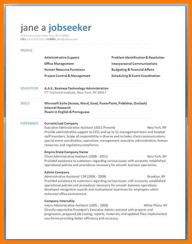 fill in resume template free printable resume formats free online
