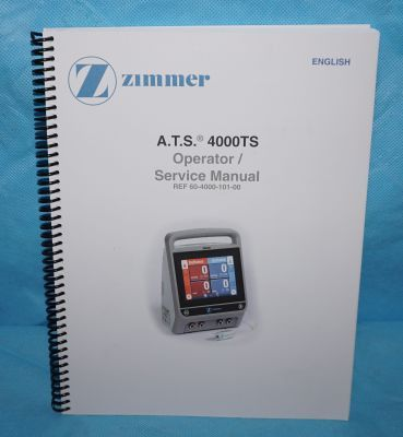 New ZIMMER ATS 4000 Tourniquet System For Sale - DOTmed Listing ...