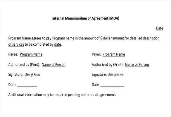 8+ Internal Memo Templates – Free Sample, Example, Format Download ...