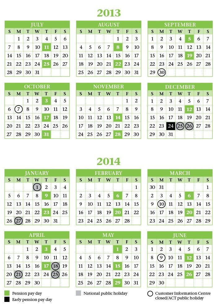 California Tesco Payday Calendar 2014 - creditstraitquick