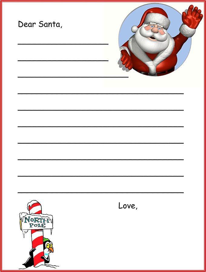 Santa Letter, Santa Letter Template | Free & Premium Templates
