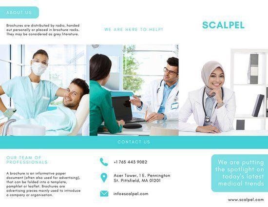 Medical Brochure Templates - Canva
