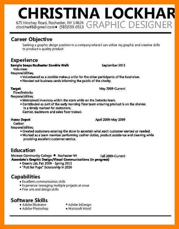 4+ graphic design resume objective | fancy-resume