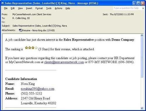Astounding Email For Sending Resume To Hr 26 On Resume Format With ...
