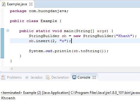 Tìm hiểu về đối tượng StringBuilder trong Java - Hướng Dẫn Java