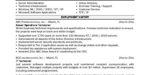 automotive mechanic resume example instrument technician resume ...