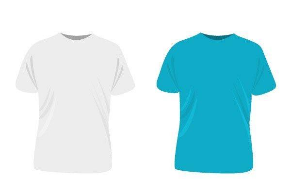 Simple T-shirt Template Vector   TopVectors.com