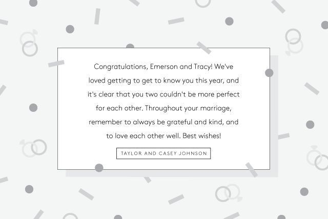 What To Write In Wedding Cards - Greeting Card Tips