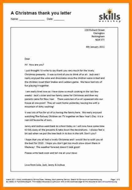 3+ example of informal letter to a friend | job resumed