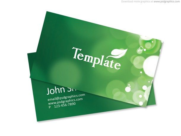 130+ Best Free PSD Business Card Templates - TechClient