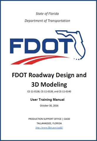 Product Support | CADD - FDOT Roadways Design and 3D Modeling